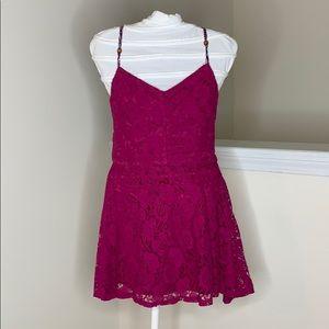🎉5 for $25🎉 NWT Xhilaration Pink Lace Dress